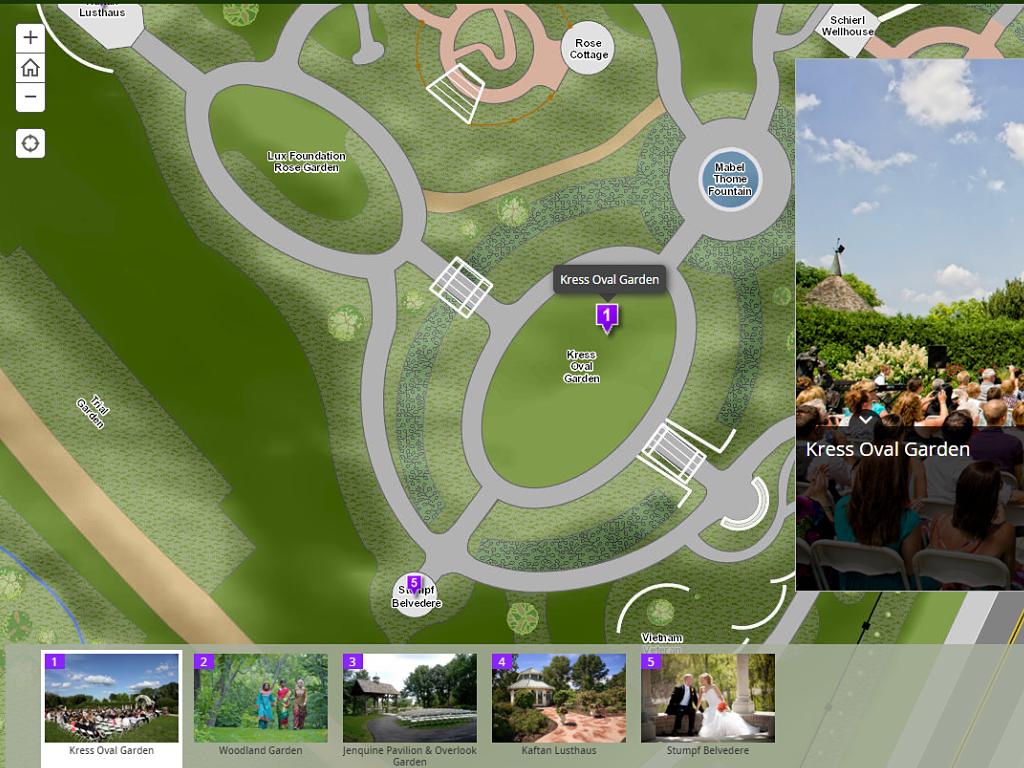 Green Bay Botanical Garden Basemap Robert E Lee Associates Inc