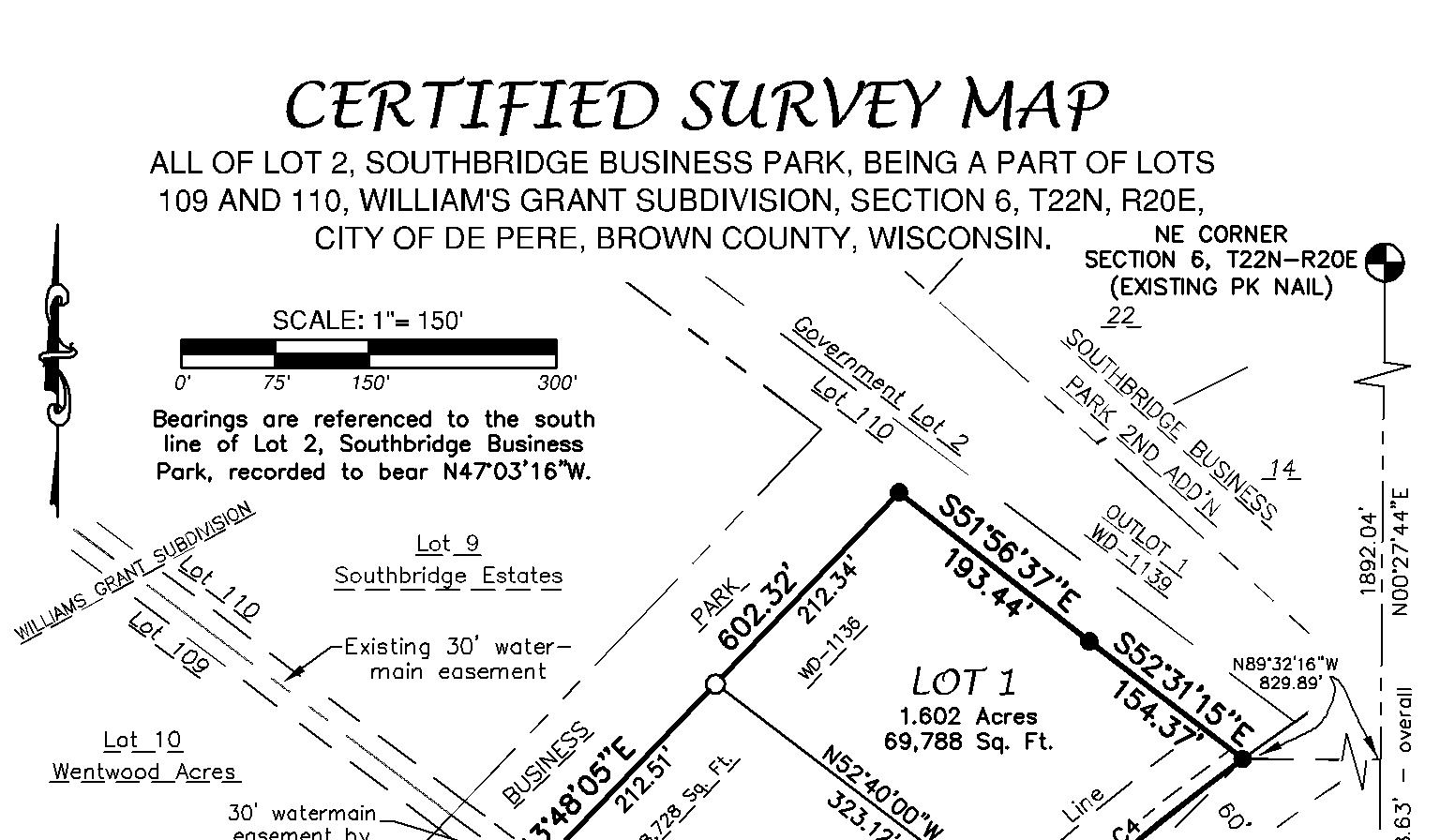 certified survey mapping,maps,surveyors in Wisconsin,Michigan